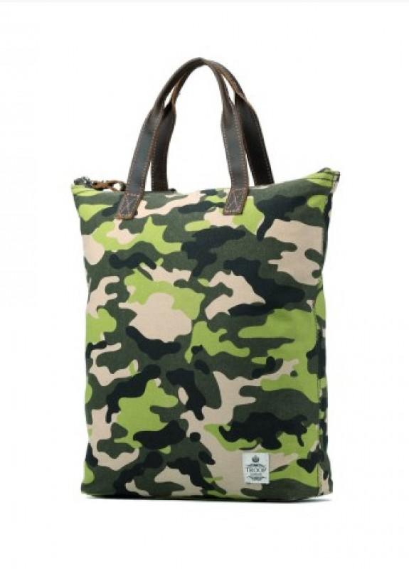 Troop London TRP0409 Dámská taška přes rameno i do ruky (Camouflage)