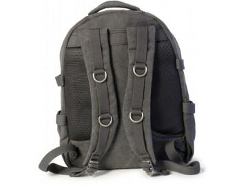 Troop London TRP0257 Velký batoh z přírodní bavlny - Brown