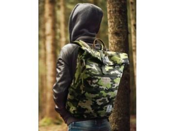 Troop London TRP0408 Velký maskáčový batoh pro notebook 17 (Camouflage)