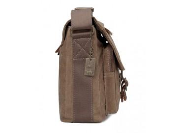 Troop London TRP0270 Vintage větší taška přes rameno - Black