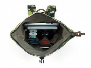 Troop London TRP0407 Jednoduchý maskáčový batoh (Camouflage)