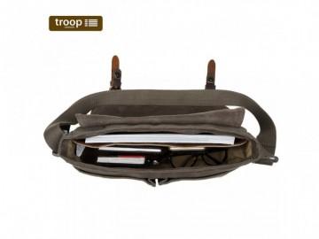 Troop London TRP0426 Brašna vhodná i pro tablet - Brown