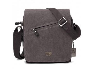 Troop London TRP0238 Rozšířitelná taška přes rameno - Black
