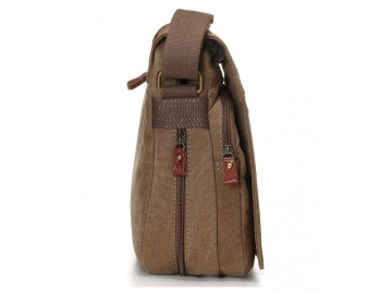 Troop London TRP0240 Rozšířitelná taška na notebook 16,5 - Brown