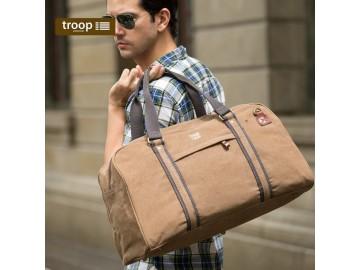 Troop London TRP0389 Velká cestovní brašna - Brown