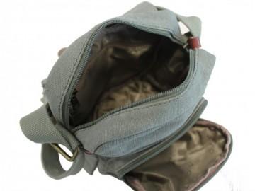 Troop London TRP0212 Unisex taška přes rameno - Black