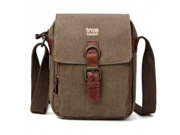 Troop London TRP0212 Unisex taška přes rameno - Brown