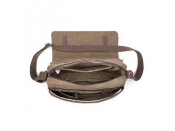 Troop London TRP0241 Rozšířitelná taška přes rameno - Black