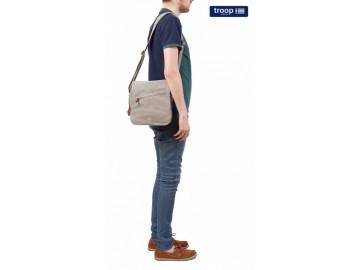 Troop London TRP0238 Rozšířitelná taška přes rameno - Brown