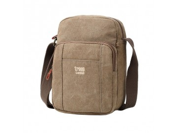 Troop London TRP0370 Unisex taška přes rameno - Brown