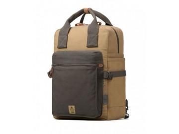 Troop London TRP0419 Taška a ruksak v jednom vhodný i pro NTB - Navy/Camel