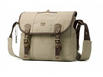 Troop London TRP0415 Brašna přes rameno - Washed Beige