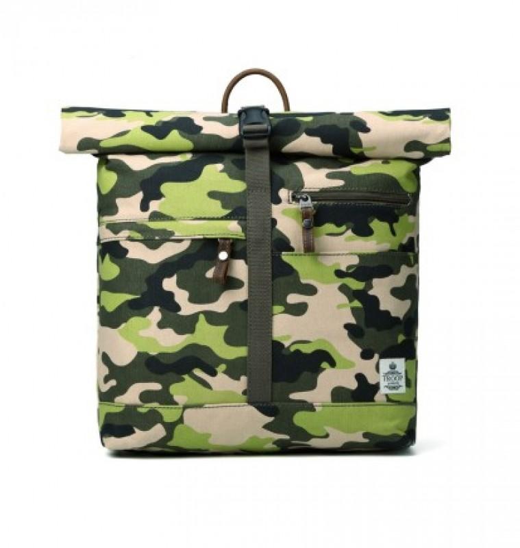 ... batoh (Camouflage) Troop London TRP0407 Jednoduchý maskáčový ... b44f7d0b88