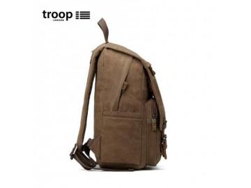 Troop London TRP0423 Batoh s ochranou pro NTB až 15,6 - Brown