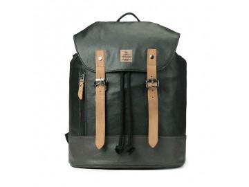 Troop London TRP0448 Větší stylový batoh - Olive