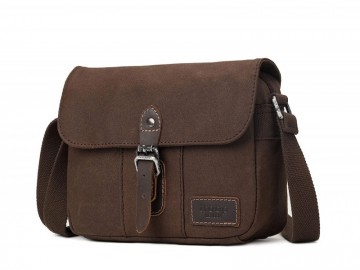 Troop London TRP0440 Dámská brašna - Dark Brown