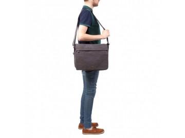 Troop London TRP0240 Rozšířitelná taška na notebook 16,5 - Khaki