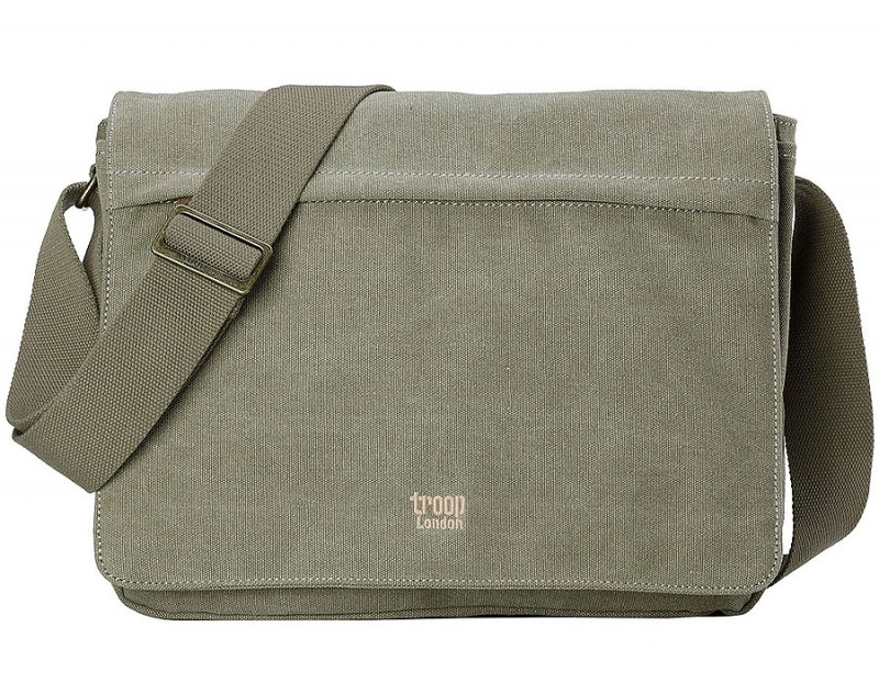 Troop London TRP0240 Rozšířitelná taška na notebook 15,6 - Khaki