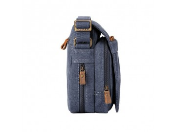 Troop London TRP0220 Unisex brašna přes rameno - Blue