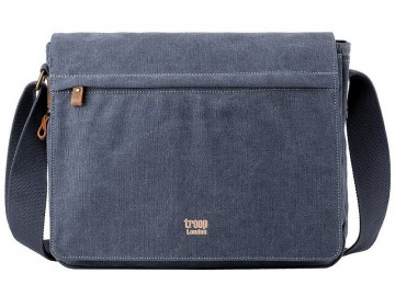 Troop London TRP0240 Rozšířitelná taška na notebook 16,5 - Blue