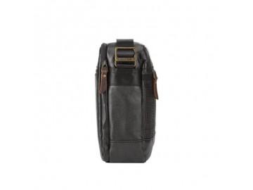 Troop London TRP0459 Brašna přes rameno vhodná i pro tablet (Black)