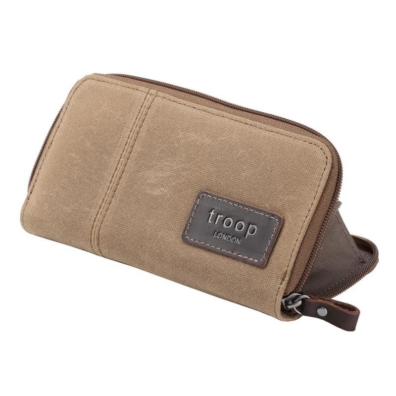 Troop London TRP0501 Dámská peněženka - Camel