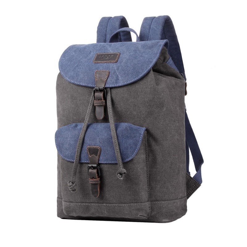 Troop London TRP0464 Batoh do města - Blue/ Grey