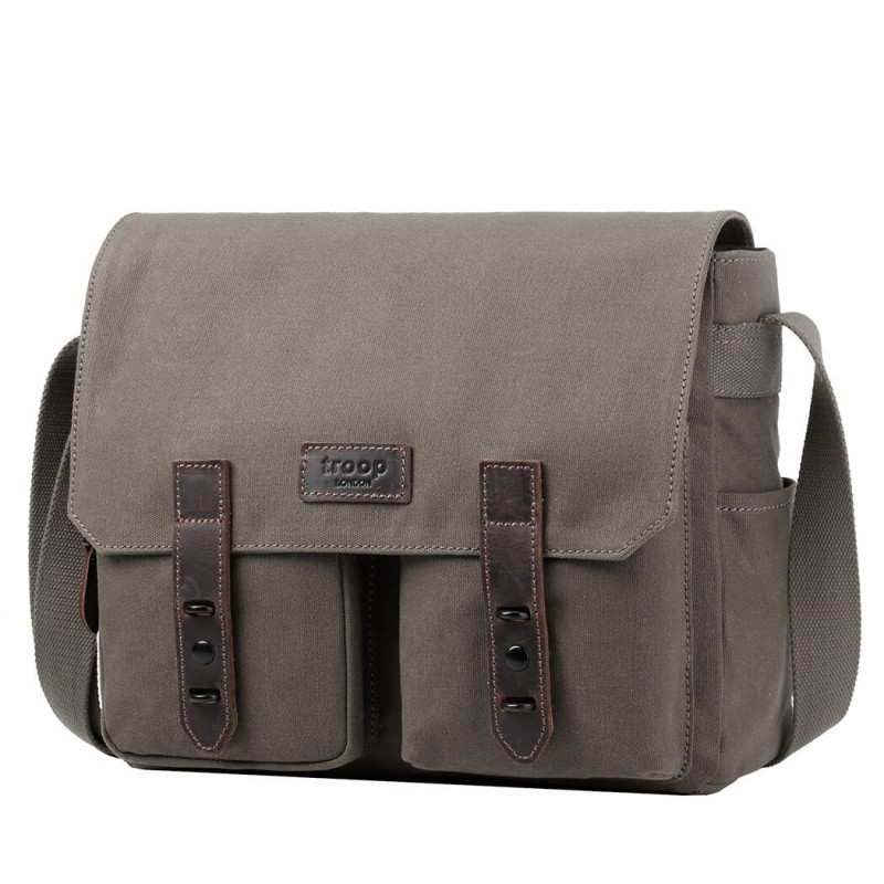 Troop London TRP0489 Větší taška přes rameno - Olive