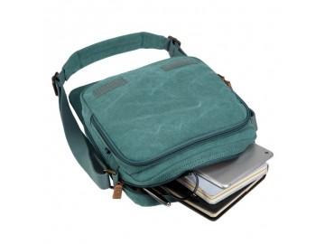Troop London TRP0238 Rozšířitelná taška přes rameno - Turquoise