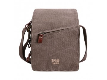 Troop London TRP0239 Rozšířitelná menší taška přes rameno - Turquoise