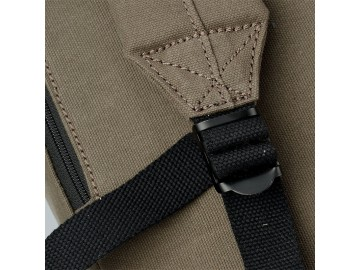 Troop London TRP0511 Větší stylový batoh - Olive