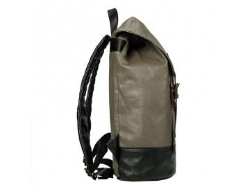 Troop London TRP0514 Větší stylový batoh - Olive