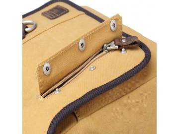 Troop London TRP0530 Menší taška přes rameno - Mustard