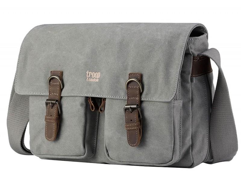 Troop London TRP0210 Taška pro volný čas - Grey