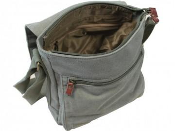 Troop London TRP0219 Klasická taška přes rameno - Grey