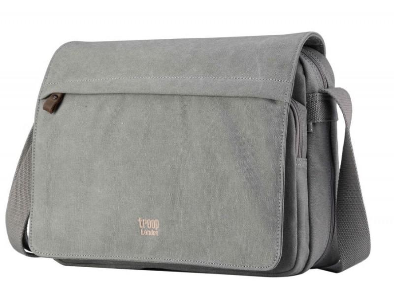 Troop London TRP0241 Rozšířitelná taška přes rameno - Grey