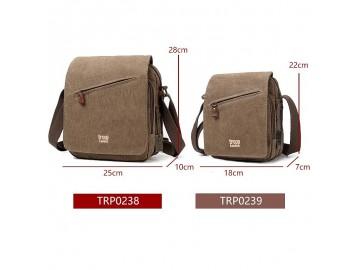 Troop London TRP0239 Rozšířitelná menší taška přes rameno - Grey