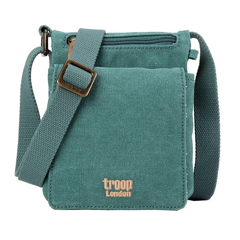 Troop London TRP0243 Důvtipná malá brašna přes rameno - Turquoise