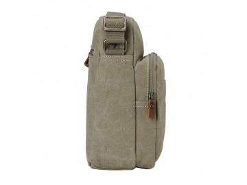 Troop London TRP0370 Unisex taška přes rameno - Khaki
