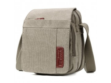 Troop London TRP0220 Unisex brašna přes rameno - Khaki